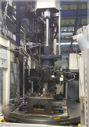 熱硬化性射出成形機 100t